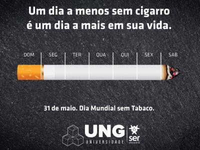 Imagem mostra cartaz da campanha