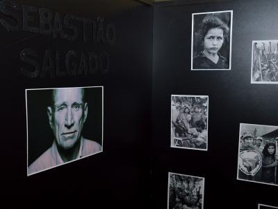 Homenagem ao fotógrafo Sebastião Salgado