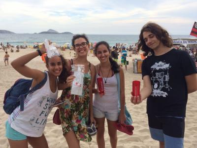 Público participa de atividades no Stand da UNIVERITAS