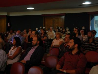 A plateia será composta por educadores e gestores de instituições educacionais