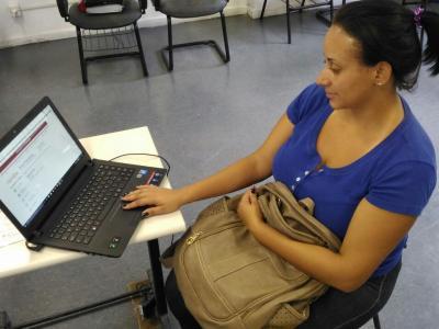 Mariana foi a primeira aluna a prestar o vestibular e se inscrever em um dos 36 cursos oferecidos