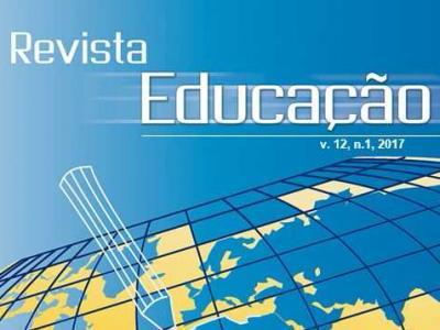 Imagem mostra capa da Revista Educação