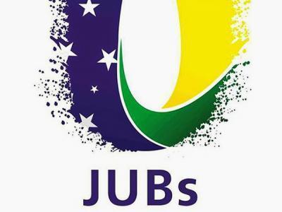 A imagem mostra a logo do JUBs