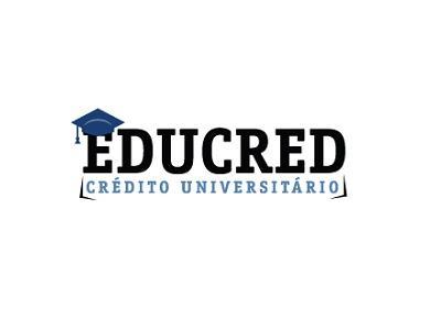 Imagem mostra logo Educred