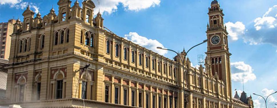 A Estação da Luz é um dos Patrimônios Históricos de São Paulo