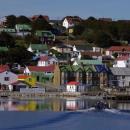 Imagem mostra Ilhas Falkland