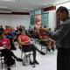 Estudantes da UNIVERITAS participam de debate com presidente do CREF